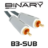 Binary Cables B3-Series Subwoofer Cable