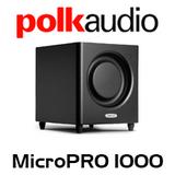 "Polk Audio 8"" DSW MicroPRO 1000 Active Subwoofer"