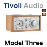 Tivoli Audio Model Three AM / FM Analog Clock Table Radio