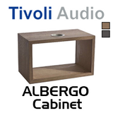 Tivoli Audio Real Wood Cabinet For Albergo / Albergo+ Table Radio