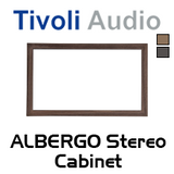 Tivoli Audio Real Wood Cabinet For Albergo Stereo Speaker