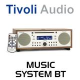 Tivoli Audio Music System BT CDs / AM / FM Hi-Fi System with Bluetooth