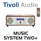 Tivoli Audio Music System Two+ FM / DAB+ Hi-Fi System with Bluetooth