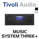 Tivoli Audio Music System Three+ FM / DAB+ Portable Hi-Fi System with Bluetooth