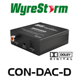 WyreStorm Express Digital to Analogue Audio Converter with Dolby Downmix