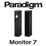 "Paradigm Monitor 7 v7 5.5"" Bass Reflex Floorstanding Speakers (Pair)"