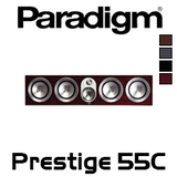 "Paradigm Prestige 55C Four 5.5"" 3-Way Centre Channel Speaker (Each)"