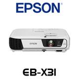Epson EB-X31 3300 Lumens XGA 3LCD Portable Multimedia Projector