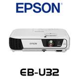 Epson EB-U32 3200 Lumens WUXGA 3LCD Portable Multimedia Projector