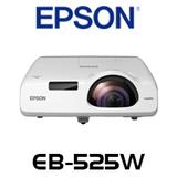 Epson EB-525W 2800 Lumens WXGA 3LCD Short Throw Projector