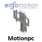 """Ergomotion Motionpc Small Electric Monitor Lift for 27"""" - 32"""" LCD TV / Monitor"""
