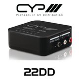 CYP Dolby DTS Digital Downmixer with Digital Analogue Audio Conversion