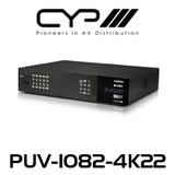 CYP 10x10 HDMI HDBaseT Matrix with Audio Matricing (4K, HDCP2.2, HDMI2.0, PoH, LAN, OAR, 100m)