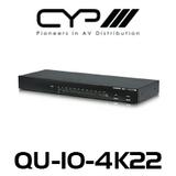 CYP 1 to 10 HDMI Distribution Amplifier (4K, HDCP2.2, HDMI2.0)