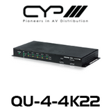 CYP 1 to 4 HDMI Distribution Amplifier (4K, HDCP2.2, HDMI2.0)