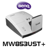 BenQ MW853UST+PW WXGA Ultra Short-throw Projector With Pen & Wall Mount