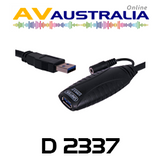 AVA 10M USB 3.0 A-A Active Extension Cable (Male-Female)
