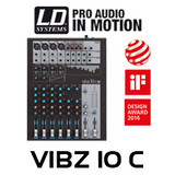 LD Systems VIBZ10C 10-Channel Mixing Console With Compressor