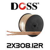 Doss 12AWG High Power Heavy Duty Speaker Cable - 100m Roll