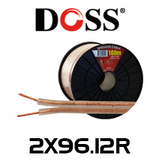 Doss 17 AWG 2 Core Heavy Duty Speaker Cable - 30 / 100m Roll