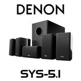 Denon SYS-5.1 5.1 Satellite Speaker Pack
