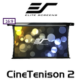"Elite Screens CineTenison2 16:9 CineWhite Motorised Projections Screens (84 - 150"")"