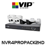 VIP Vision Professional 4 Channel 2.0MP 1080P IP Surveillance Kit
