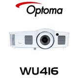Optoma WU416 WUXGA 4200 Lumens Medium Venue DLP Projector