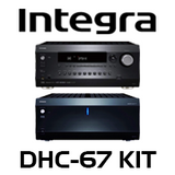 Integra DHC-60.7 7.2 Ch A/V Preamp + DTA-70.1 Amplifier Kit