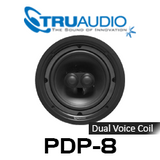"TruAudio PDP-8 Phantom 8"" Injected Poly Woofer DVC In-Ceiling Speaker (Each)"