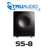 "TruAudio SS-8 8"" 100W Front Mounted Slot Active Subwoofer"