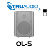 "TruAudio OL-5 Oasis 5.25"" Poly Weather Proof Outdoor Speaker (Each)"
