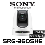 Sony SRG-360SHE FHD 30x Zoom PTZ Video Conferencing IP Camera