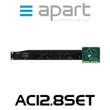APart AC12.8SET DSP Powered Audio Matrix With AC12.8FP Feature Pack