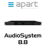 APart AudioSystem8.8 8x8 Audio Matrix With Quad FM Tuner