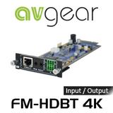 AVGear FM-HDBT4K FMX 4K Seamless HDBT Input / Output Card