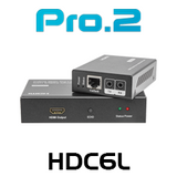 Pro2 HDC6L HDMI Over Single Cat6 Extender with IR (50m)