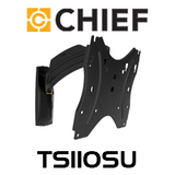 "Chief  TS110SU Small 10-32"" Thinstall Single Swing Arm TV Wall Mount (10"" Extension)"