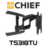 "Chief TS318TU Medium 26-52"" Thinstall Dual Swing Arm TV Wall Mount (18"" Extension)"