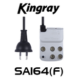 Kingray SA164(F) 4-Way TV Aerial Plug Splitter Amplifier