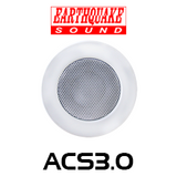 "Earthquake ACS3.0 3"" Architectural Closed Back In-Ceiling Speaker (Each)"