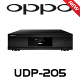 Oppo UDP-205 4K UHD Audiophile 3D Blu-Ray Disc Player