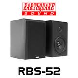 "Earthquake RBS-52 5.25"" Reference Bookshelf Speakers (Pair)"