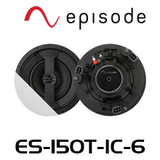 "Episode ES-150T 6.5"" Thin Bezel In-Ceiling Speakers (Pair)"