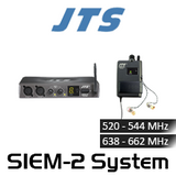 JTS SIEM-2 Single Channel Wireless In-Ear Monitor Mono System