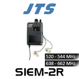 JTS SIEM-2R Mono In-Ear Monitor Receiver