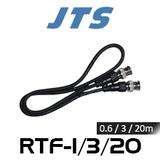 JTS RTF-1 BNC to BNC Antenna Cable (BNC-F / BNC-F)