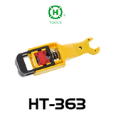 Hanlong HT-363 RG59/ 6/ 7/ 11 Coaxial Cable Stripper With Wrench