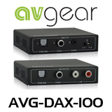 AVGear DAX100 Audio Extender Kit Over CAT Cable (170m)