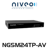 Niveo NGS24TP-AV 24 Rear Port Gigabit Ethernet Switch